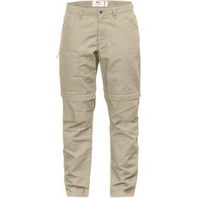Fjällräven High Coast Pantalones Zip-Off Mujer, beige